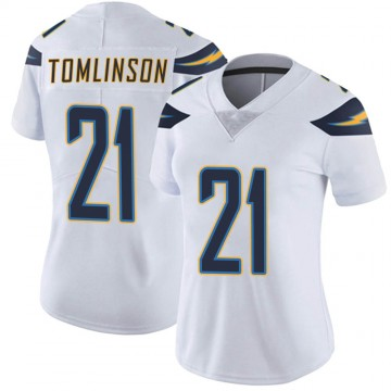 Women's Nike Los Angeles Chargers LaDainian Tomlinson White Vapor Untouchable Jersey - Limited