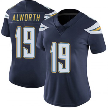 Women's Nike Los Angeles Chargers Lance Alworth Navy Team Color Vapor Untouchable Jersey - Limited