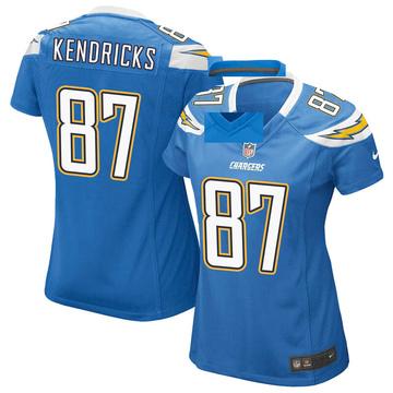 Women's Nike Los Angeles Chargers Lance Kendricks Blue Powder Alternate Jersey - Game