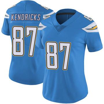 Women's Nike Los Angeles Chargers Lance Kendricks Blue Powder Vapor Untouchable Alternate Jersey - Limited