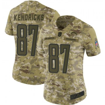 Women's Nike Los Angeles Chargers Lance Kendricks Camo 2018 Salute to Service Jersey - Limited