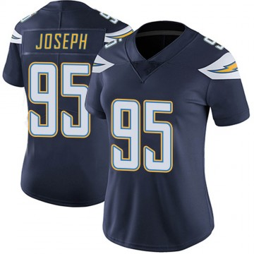 Women's Nike Los Angeles Chargers Linval Joseph Navy Team Color Vapor Untouchable Jersey - Limited