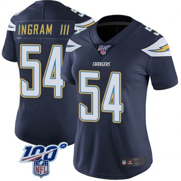 Women's Nike Los Angeles Chargers Melvin Ingram Navy 100th Vapor Jersey - Limited