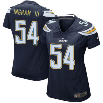 Women's Nike Los Angeles Chargers Melvin Ingram Navy Team Color Jersey - Game