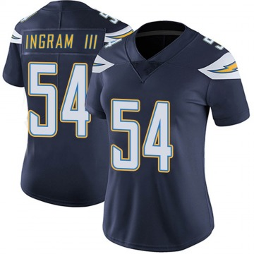 Women's Nike Los Angeles Chargers Melvin Ingram Navy Team Color Vapor Untouchable Jersey - Limited