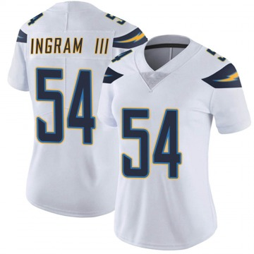 Women's Nike Los Angeles Chargers Melvin Ingram White Vapor Untouchable Jersey - Limited