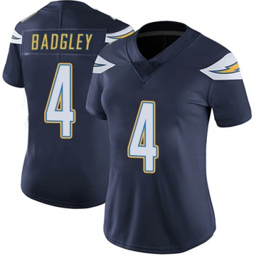Women's Nike Los Angeles Chargers Mike Badgley Navy Team Color Vapor Untouchable Jersey - Limited
