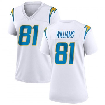 Women's Nike Los Angeles Chargers Mike Williams White Jersey - Game