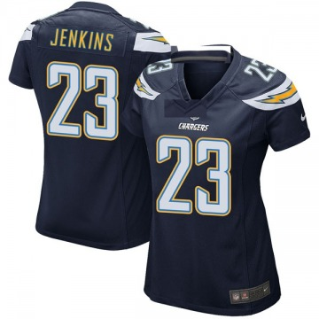Women's Nike Los Angeles Chargers Rayshawn Jenkins Navy Team Color Jersey - Game