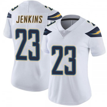 Women's Nike Los Angeles Chargers Rayshawn Jenkins White Vapor Untouchable Jersey - Limited