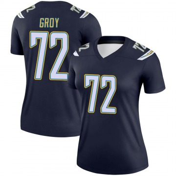 Women's Nike Los Angeles Chargers Ryan Groy Navy Jersey - Legend