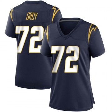 Women's Nike Los Angeles Chargers Ryan Groy Navy Team Color Jersey - Game
