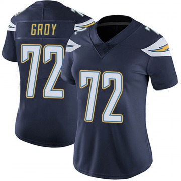 Women's Nike Los Angeles Chargers Ryan Groy Navy Team Color Vapor Untouchable Jersey - Limited