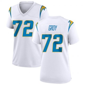 Women's Nike Los Angeles Chargers Ryan Groy White Jersey - Game