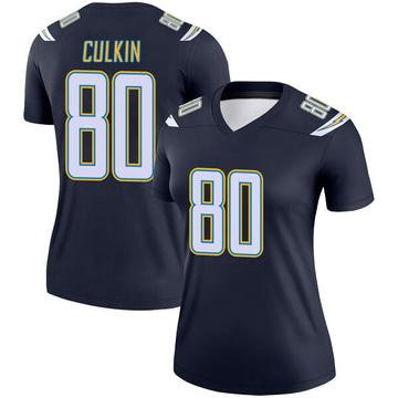 Women's Nike Los Angeles Chargers Sean Culkin Navy Jersey - Legend