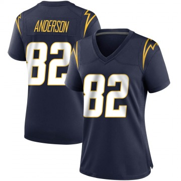 Women's Nike Los Angeles Chargers Stephen Anderson Navy Team Color Jersey - Game