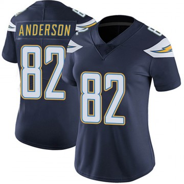 Women's Nike Los Angeles Chargers Stephen Anderson Navy Team Color Vapor Untouchable Jersey - Limited