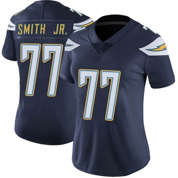 Women's Nike Los Angeles Chargers T.J. Smith Navy Team Color Vapor Untouchable Jersey - Limited