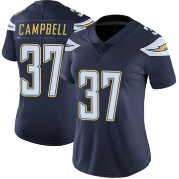 Women's Nike Los Angeles Chargers Tevaughn Campbell Navy Team Color Vapor Untouchable Jersey - Limited