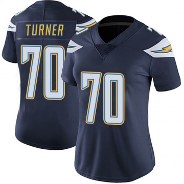 Women's Nike Los Angeles Chargers Trai Turner Navy Team Color Vapor Untouchable Jersey - Limited