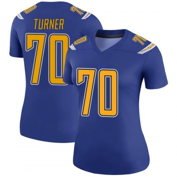 Women's Nike Los Angeles Chargers Trai Turner Royal Color Rush Jersey - Legend