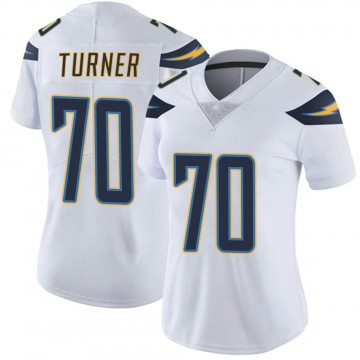 Women's Nike Los Angeles Chargers Trai Turner White Vapor Untouchable Jersey - Limited
