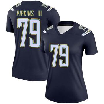 Women's Nike Los Angeles Chargers Trey Pipkins Navy Jersey - Legend