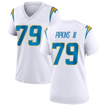 Women's Nike Los Angeles Chargers Trey Pipkins White Jersey - Game