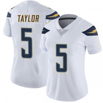 Women's Nike Los Angeles Chargers Tyrod Taylor White Vapor Untouchable Jersey - Limited