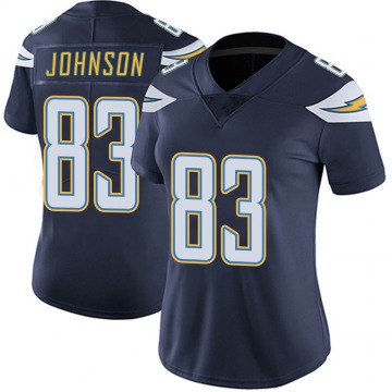 Women's Nike Los Angeles Chargers Tyron Johnson Navy Team Color Vapor Untouchable Jersey - Limited