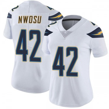 Women's Nike Los Angeles Chargers Uchenna Nwosu White Vapor Untouchable Jersey - Limited