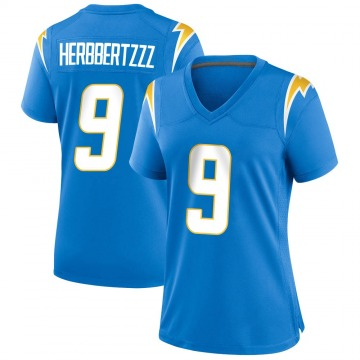 Women's Nike Los Angeles Chargers Younghoe Koo Blue Powder Alternate Jersey - Game