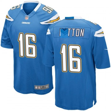 Youth Nike Los Angeles Chargers Andre Patton Blue Powder Alternate Jersey - Game