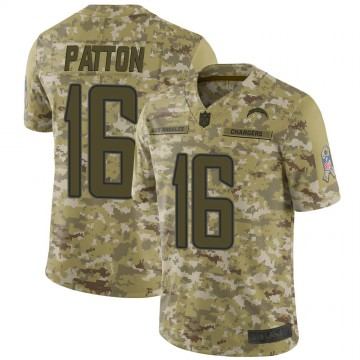 Youth Nike Los Angeles Chargers Andre Patton Camo 2018 Salute to Service Jersey - Limited