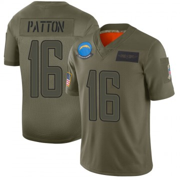 Youth Nike Los Angeles Chargers Andre Patton Camo 2019 Salute to Service Jersey - Limited
