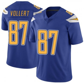 Youth Nike Los Angeles Chargers Andrew Vollert Royal Color Rush Vapor Untouchable Jersey - Limited