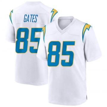 Youth Nike Los Angeles Chargers Antonio Gates White Jersey - Game