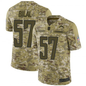 Youth Nike Los Angeles Chargers Asmar Bilal Camo 2018 Salute to Service Jersey - Limited