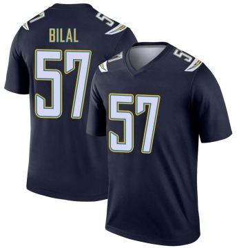 Youth Nike Los Angeles Chargers Asmar Bilal Navy Jersey - Legend