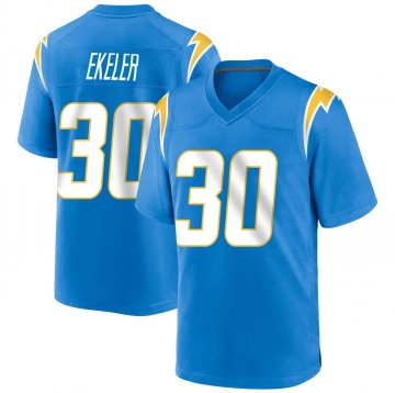 Youth Nike Los Angeles Chargers Austin Ekeler Blue Powder Alternate Jersey - Game