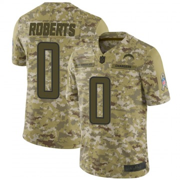 Youth Nike Los Angeles Chargers Austin Roberts Camo 2018 Salute to Service Jersey - Limited