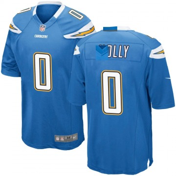Youth Nike Los Angeles Chargers Bobby Holly Blue Powder Alternate Jersey - Game