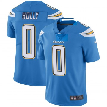 Youth Nike Los Angeles Chargers Bobby Holly Blue Powder Vapor Untouchable Alternate Jersey - Limited