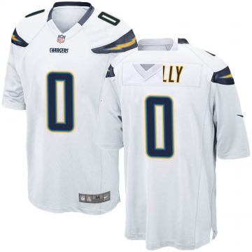 Youth Nike Los Angeles Chargers Bobby Holly White Jersey - Game