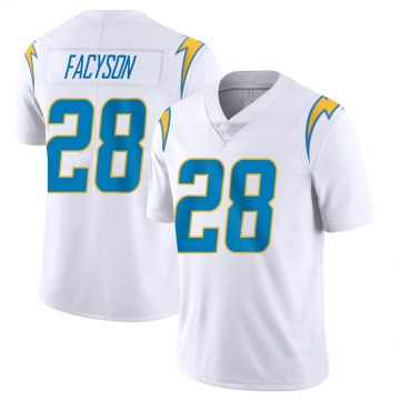 Youth Nike Los Angeles Chargers Brandon Facyson White Vapor Untouchable Jersey - Limited