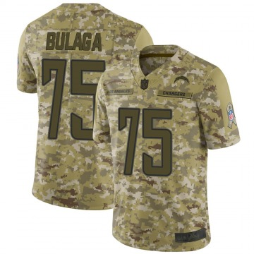 Youth Nike Los Angeles Chargers Bryan Bulaga Camo 2018 Salute to Service Jersey - Limited