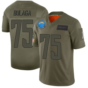 Youth Nike Los Angeles Chargers Bryan Bulaga Camo 2019 Salute to Service Jersey - Limited
