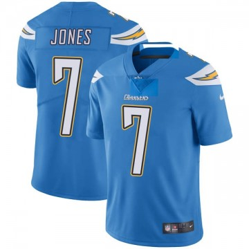 Youth Nike Los Angeles Chargers Cardale Jones Blue Powder Vapor Untouchable Alternate Jersey - Limited