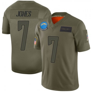 Youth Nike Los Angeles Chargers Cardale Jones Camo 2019 Salute to Service Jersey - Limited