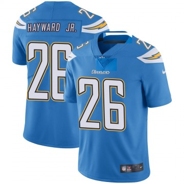Youth Nike Los Angeles Chargers Casey Hayward Blue Powder Vapor Untouchable Alternate Jersey - Limited